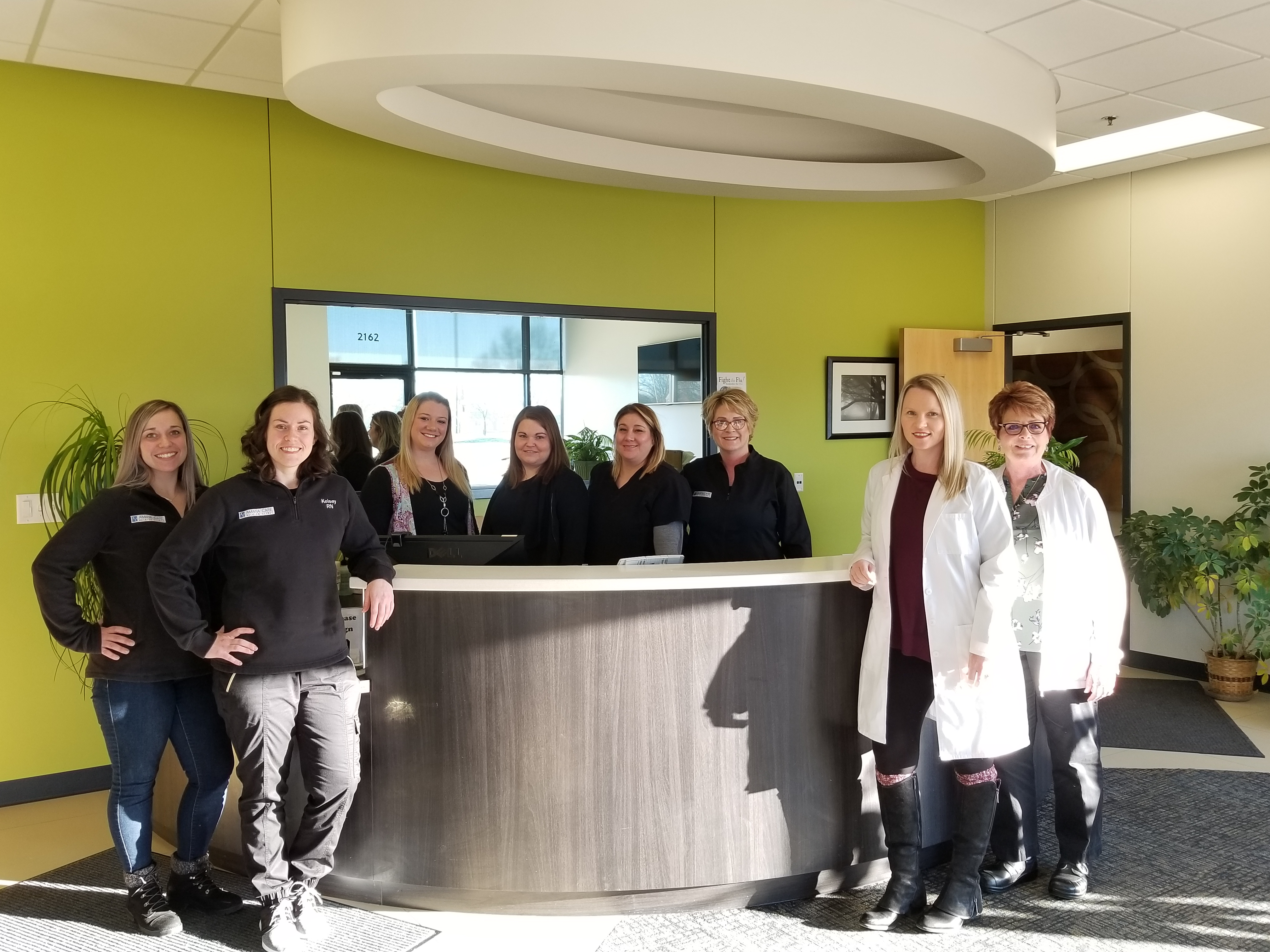 Amana Care walk in clinic that provides efficient